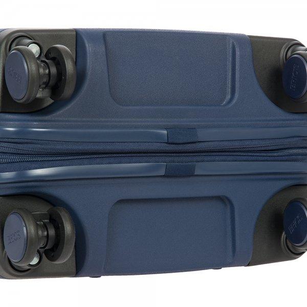 Bric's Ulisse Trolley 55 USB ocean blue Harde Koffer