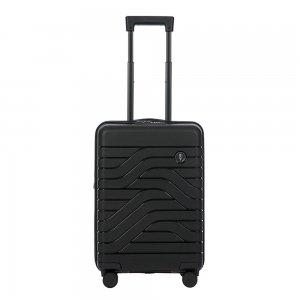 Bric's Ulisse Trolley Expandable 55 USB black Harde Koffer
