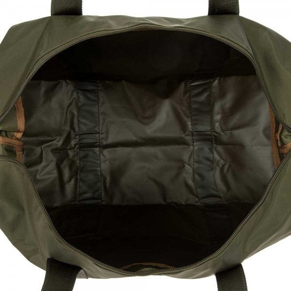 Bric's X-Bag Holdall Medium olive Weekendtas van Nylon