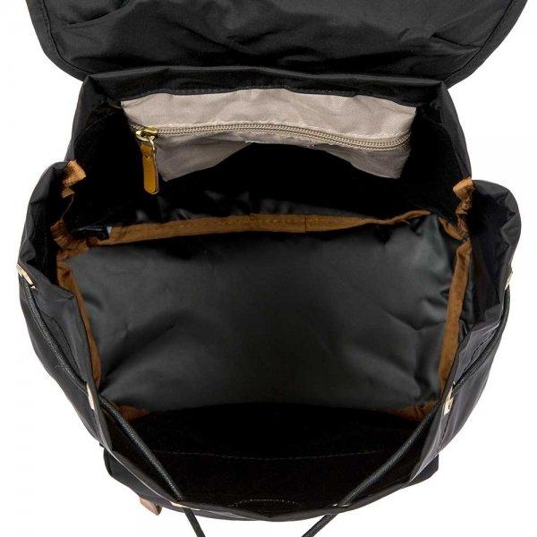 Bric's X-Travel City Backpack black Damestas van Nylon