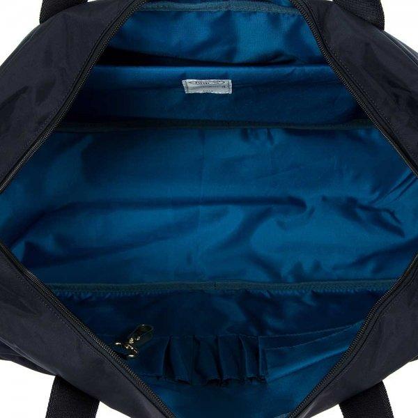 Bric's X-Travel Holdall ocean blue Weekendtas van Nylon