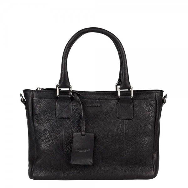 Burkely Antique Avery Handbag S black Damestas