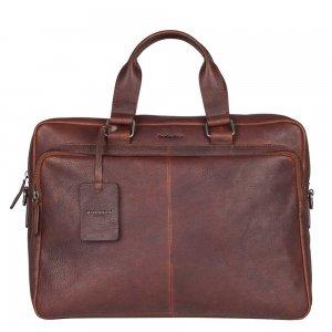 """Burkely Antique Avery Workbag 15.6"""" dark brown"""