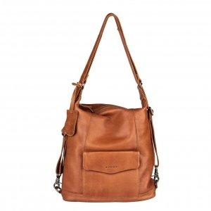 Burkely Just Jackie Backpack hobo cognac backpack