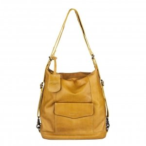 Burkely Just Jackie Backpack hobo yellow backpack