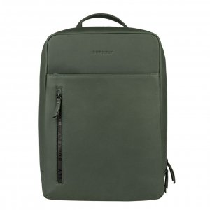 Burkely Rain Riley Backpack oil green