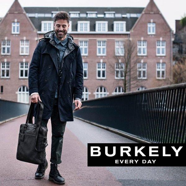 "Burkely Rain Riley Shopper 15.6"" cognac van Leer"