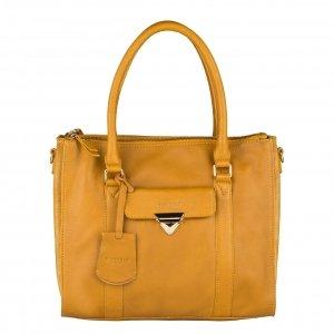Burkely Secret Sage Handbag M dark yellow