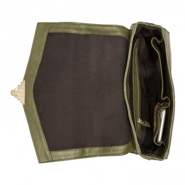 Burkely Secret Sage backpack 2-way green backpack van Leer