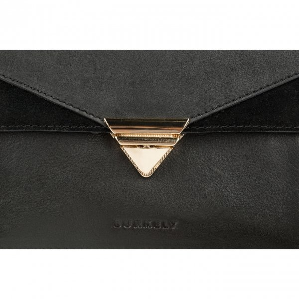 Burkely Secret Sage workbag black van Leer