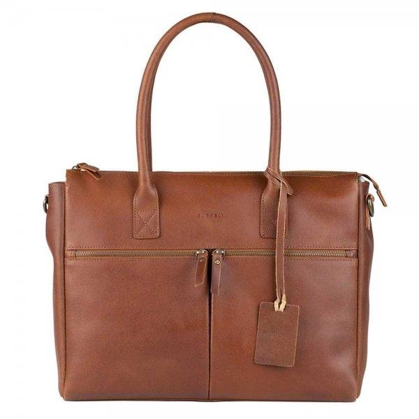 "Burkely Vintage Valerie Laptop Bag 15"" cognac"