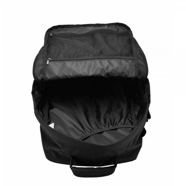 CabinZero Classic 36L Ultra Light Cabin Bag absolute black Weekendtas van Polyester