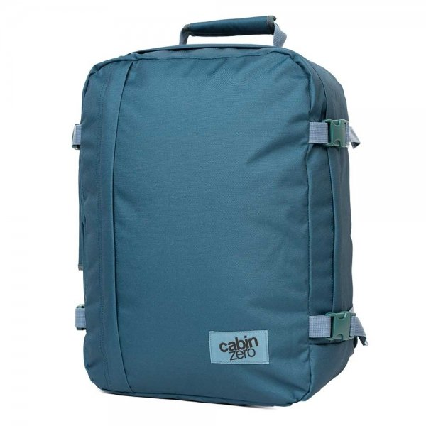 CabinZero Classic 36L Ultra Light Cabin Bag aruba blue Weekendtas van Polyester