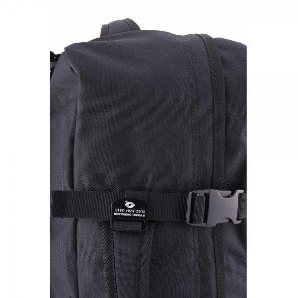 CabinZero Military 44L Lightweight Cabin Bag absolute black Weekendtas