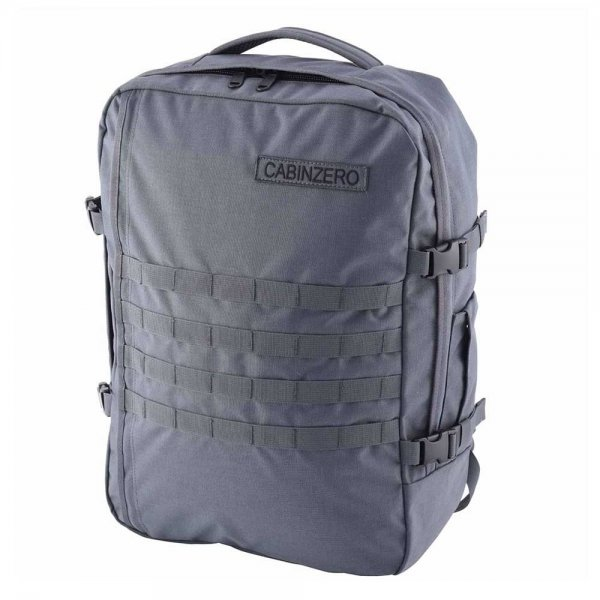 CabinZero Military 44L Lightweight Cabin Bag military grey Weekendtas van Polyester