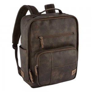 "Camel active Laos Rugzak 15"" brown backpack"