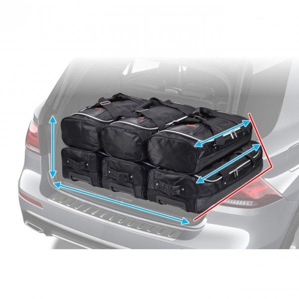 Car-Bags Basics Reistas Met Wielen 60 zwart Trolley Reistas van Nylon