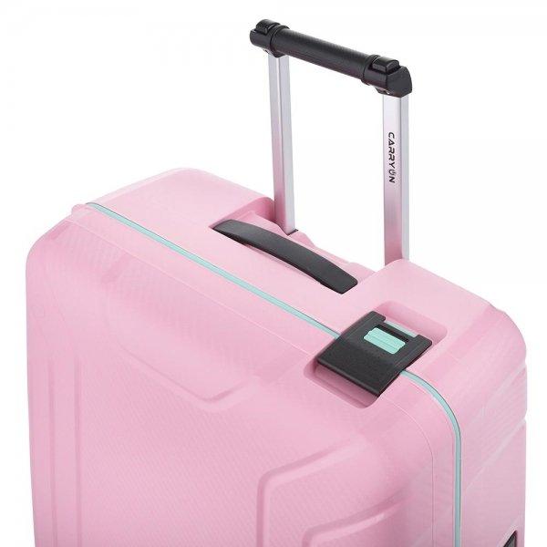 CarryOn Steward Trolley 65 light pink Harde Koffer van Polypropyleen