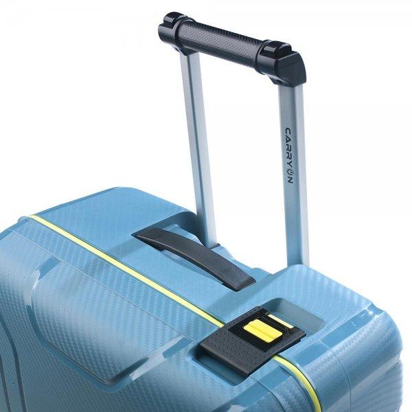 CarryOn Steward Trolleyset 2pc ice blue van Polypropyleen