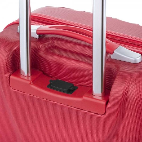 CarryOn Wave Koffer 55 rood Harde Koffer van ABS