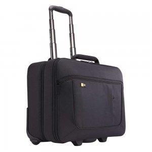"""Case Logic ANR Line Rolling Laptop Case 17.3"""" black Handbagage koffer Trolley"""