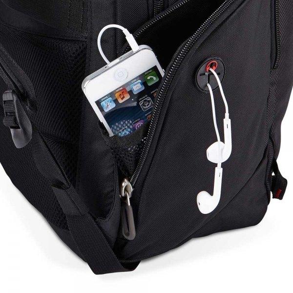 """Case Logic BPE Line 15.6"""" Laptop Backpack black2 van Polyester"""