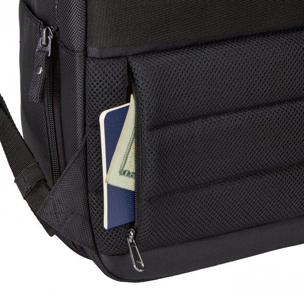 Case Logic Bryker Convertible Backpack 15'' black backpack van Polyester