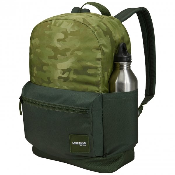 Case Logic Campus Founder Backpack 26L green/camo van Polyester