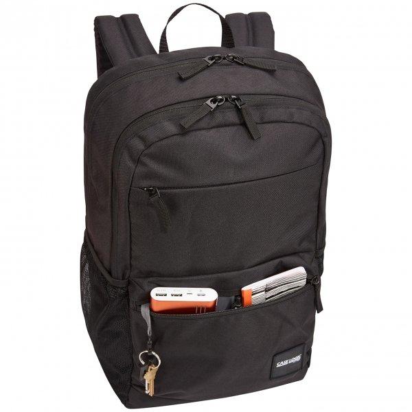 Case Logic Campus Uplink Backpack 26L black backpack van Polyester