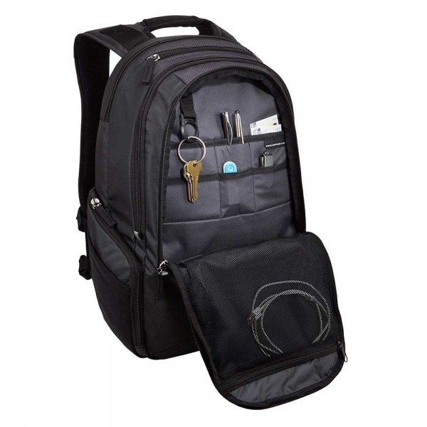 "Case Logic InTransit Laptoprugzak 14.1"" black backpack"