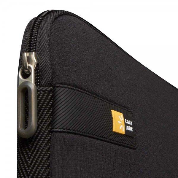 "Case Logic LAPS Line Laptop Sleeve 17.3"" zwart Laptopsleeve van Polyester"