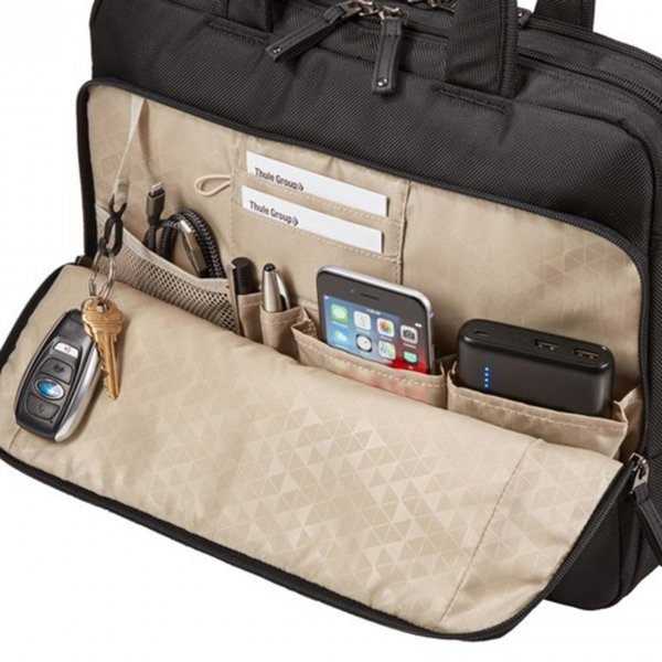 Case Logic Notion 14'' Laptop Bag black backpack van Nylon