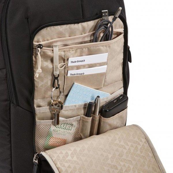 Case Logic Notion 17.3'' Laptop Backpack black backpack van Nylon