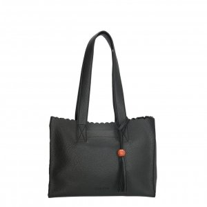 Charm London Covent Garden Shopper zwart Damestas