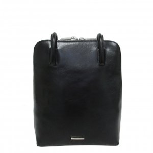 Claudio Ferrici Classico Backpack black Damestas