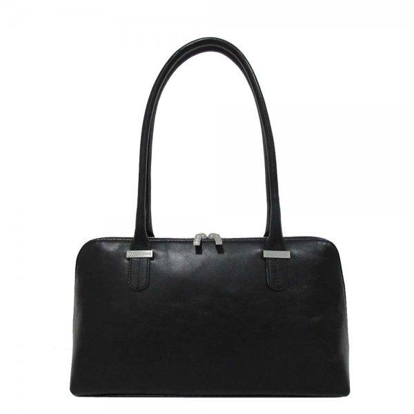 Claudio Ferrici Classico Shoulder Bag black4 Damestas