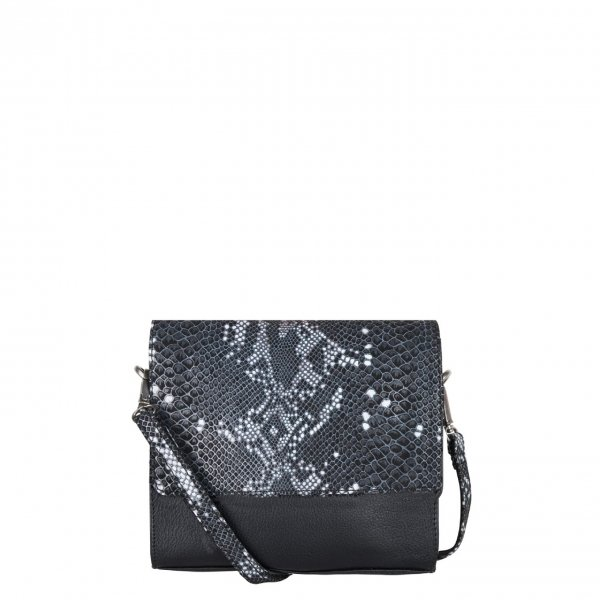 Cowboysbag x Bobbie Bodt Sapphire Bag snake black and white Damestas