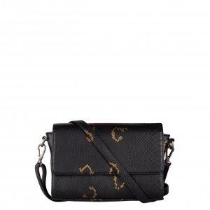 Cowboysbag x Bobbie Bodt Topaz Bag snake black and gold Damestas
