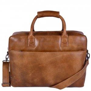 "DSTRCT Fletcher Street Workingbag 17"" cognac2"