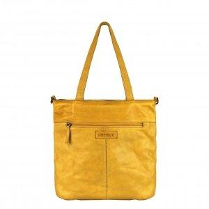 DSTRCT Harrington Road Shopper L yellow2 Damestas
