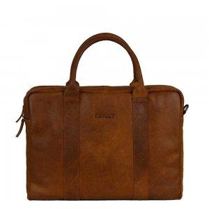 DSTRCT Main Street Workingbag 15.6'' cognac