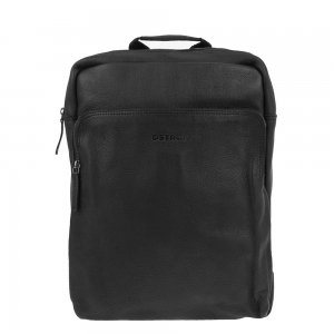"DSTRCT Raider Road Montana Laptop Backpack 15.6"" black backpack"