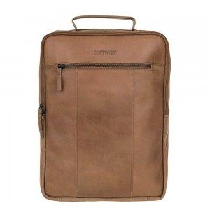 DSTRCT River Side Backpack 15'' brown backpack