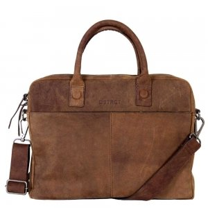 "DSTRCT Wall Street Laptopbag 14"" brown"