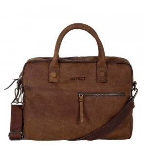 "DSTRCT Wall Street Workingbag 14"" brown"