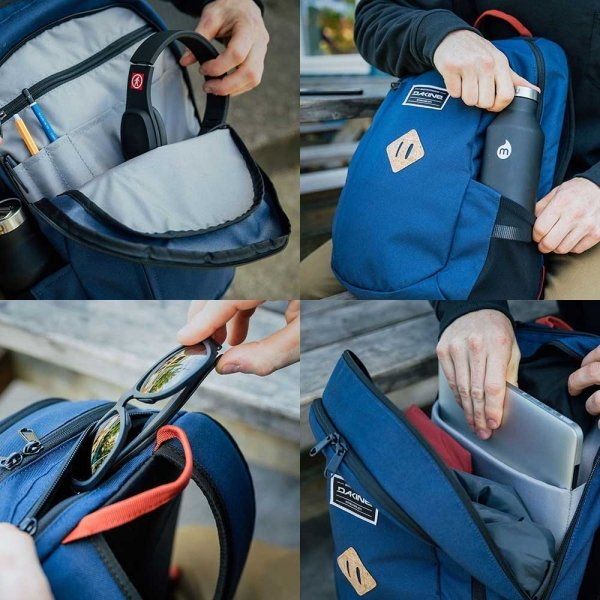 Dakine Factor 22L Rugzak greyscale backpack van Polyester