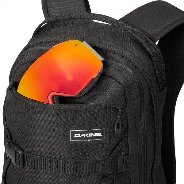 Dakine Mission 25L Rugzak black backpack van Polyester