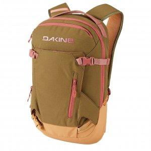 Dakine Womens Heli Pack 12L Rugzak dark olive caramel backpack