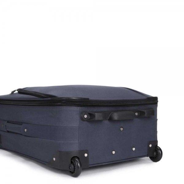 Decent Basic Line 3-delige Kofferset d.blauw van Nylon