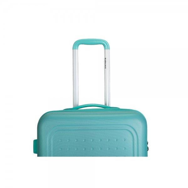 Decent Maxi Air Trolley 77 Expandable mint groen Harde Koffer van ABS